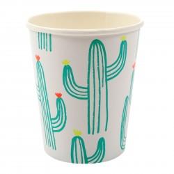 Gobelets cactus x12