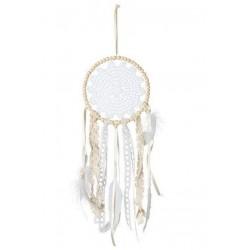 Attrapes-rêves en dentelle et perles