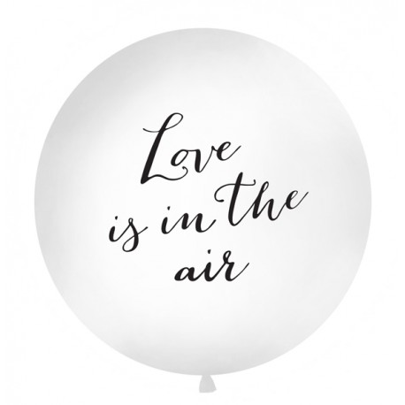 "Ballon géant ""love is in the air"""