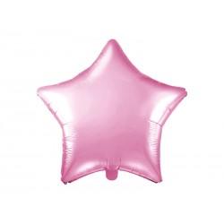 Ballon étoile rose - 48cm