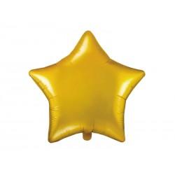 Ballon étoile dorée - 48cm